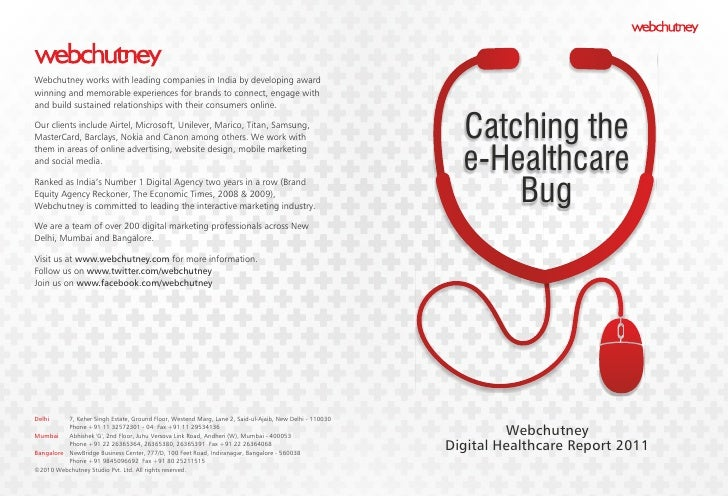Webchutney Digital Healthcare Report 2011