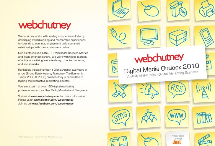 Webchutney Digital Media Outlook 2010 Report