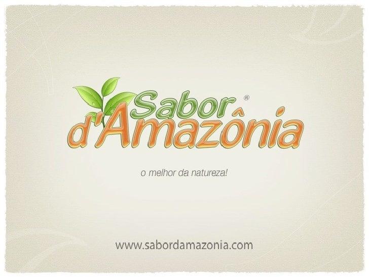 Web conference Sabor d'Amazonia Brasil