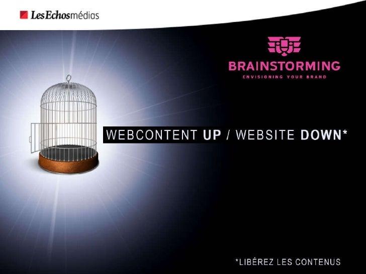 Webcontent up, website down