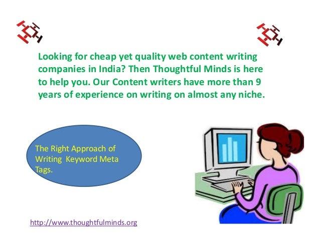 Web content companies