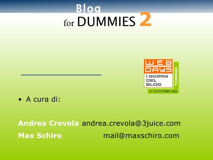 Webdays 2004 Blogfordummies2 Ok