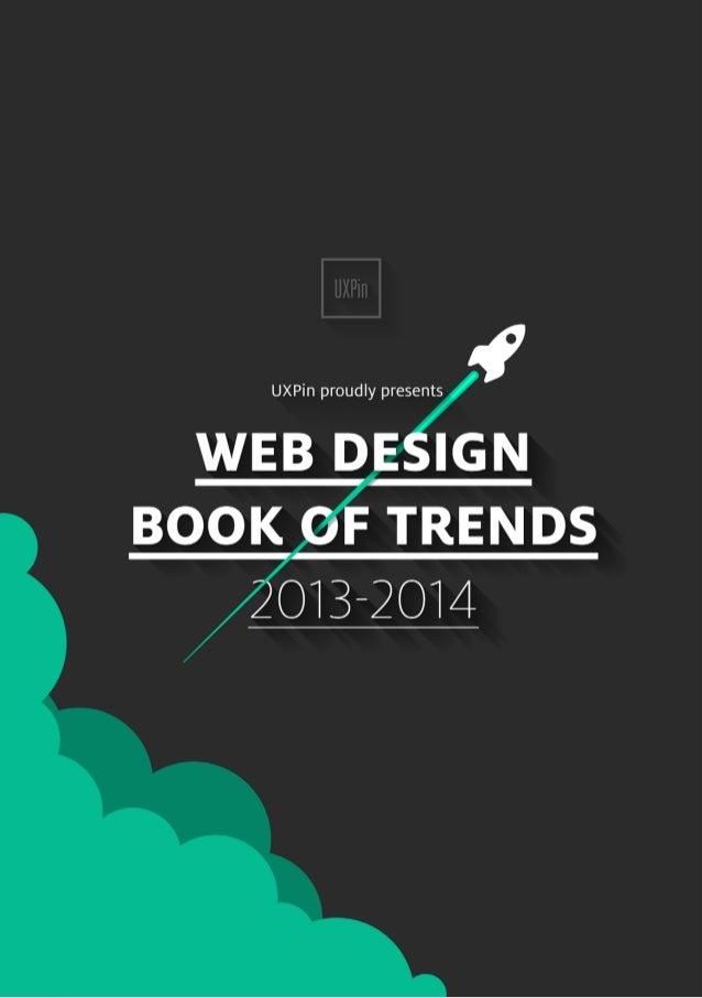 WEB DESIGN BOOK OF TRENDS 2013-2014  Marcin Treder, Robert Warych  and  Sebastian Witman
