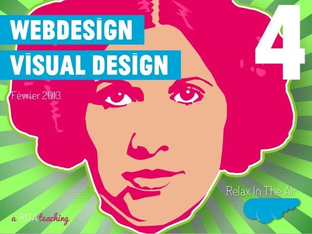 Webdesignvisual designFévrier 2013a RITAteachingRelax In The Air4