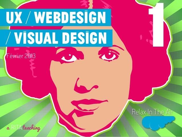 Webdesign, UX et UCD #1