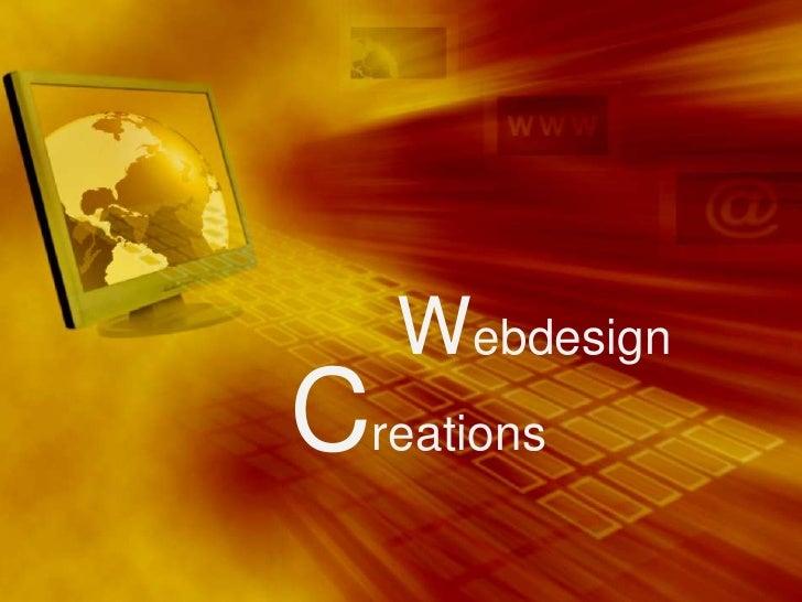 Webdesign<br />Creations<br />