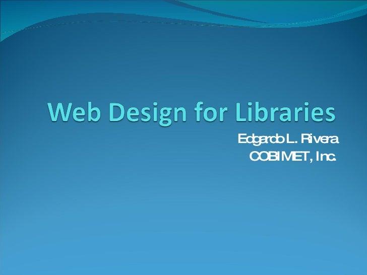 Web Design For Librarians (2)