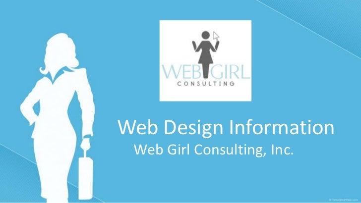 Web design information