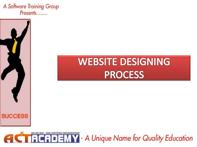 The Web Site Design and Development Process • There are numerous steps in the web site design and development process. Fro...