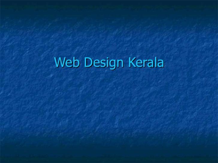 Web Design Kerala