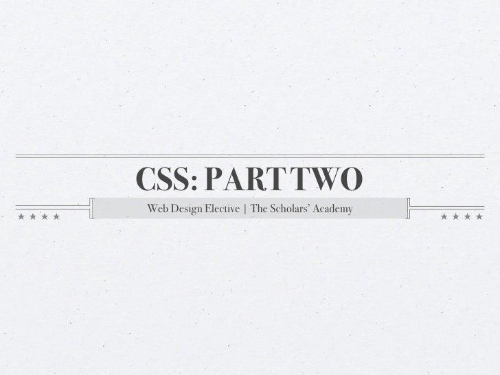 Web Design, Lesson Plan: Classes and IDs