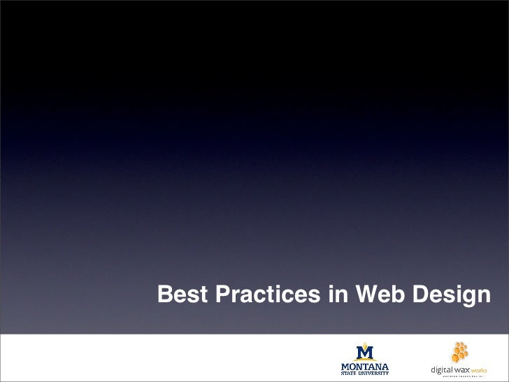 Fundamentals of Designing Web Experiences