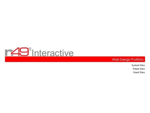 Interactive   Web Design Portfolio                          Custom Sites                           Power Sites            ...