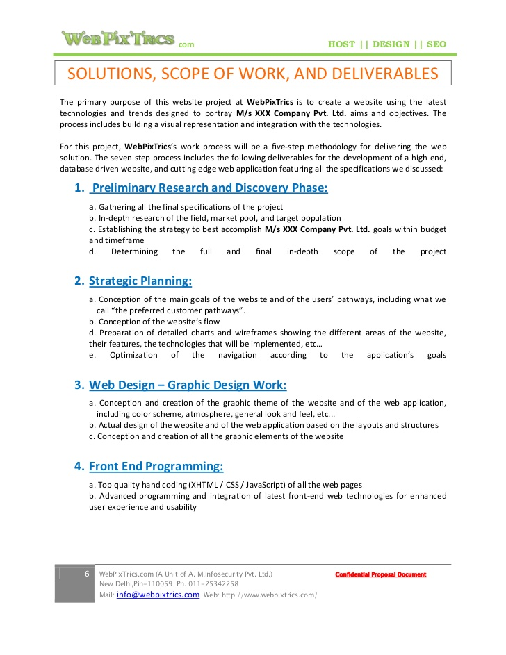 website design proposal template .