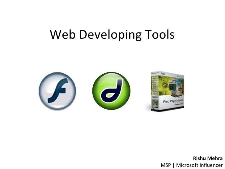 Web Developing Tools