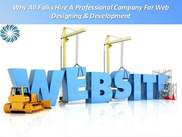 Why All Folks Hire A Professional Company For WebDesigning & Development