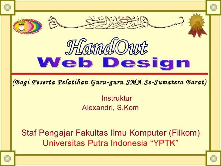 Web disain