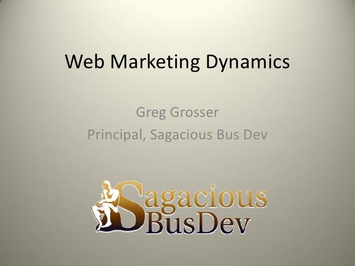 Web  Dyanamics  Sag Bus Dev 8 3 10
