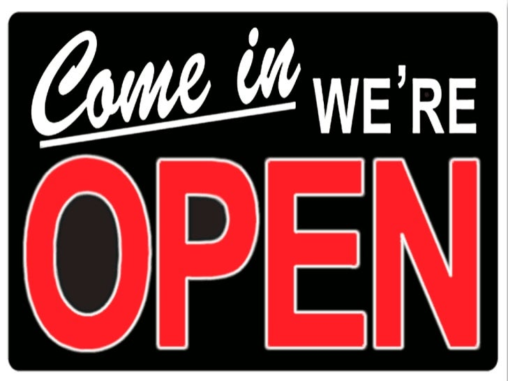 We Believe in Open Business