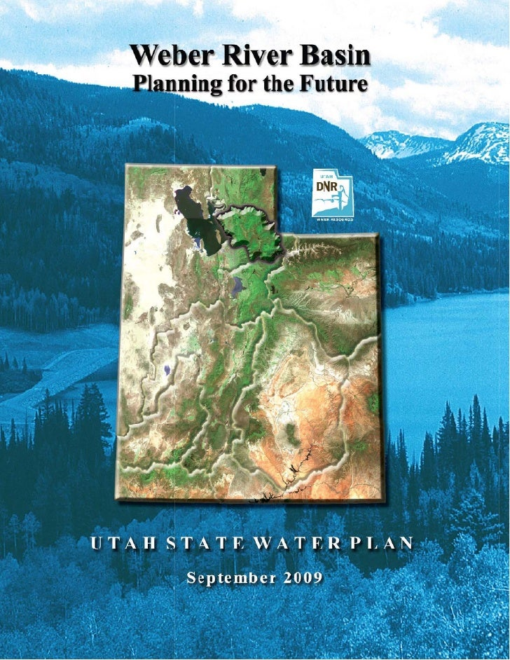 Weber River Basin 2009 Water Plan
