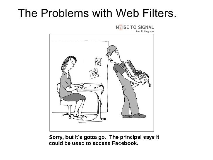 The Problems with Web Filters. <ul><li>  </li></ul>