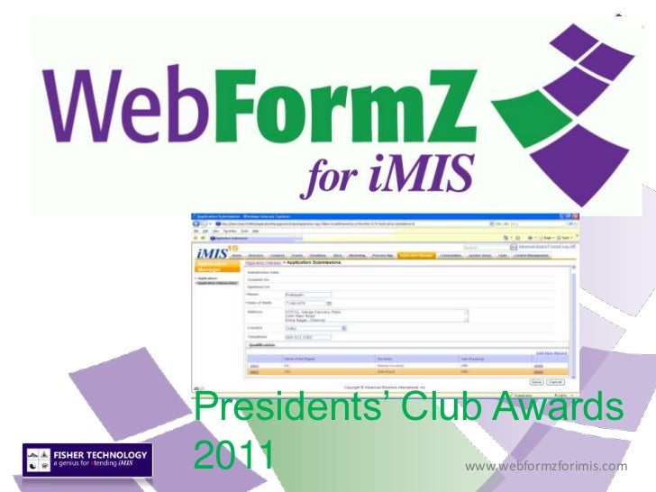 Presidents' Club Awards 2011<br />