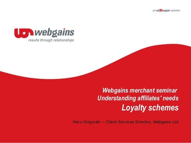 Webgains - Hero Grigoraki