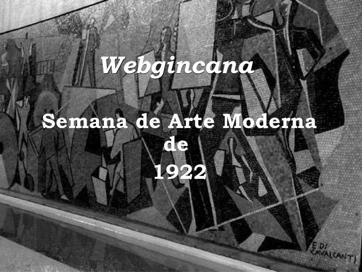 Webgincana   Semana de Arte Moderna de  1922