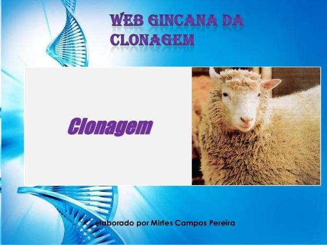 Web Gincana da Clonagem