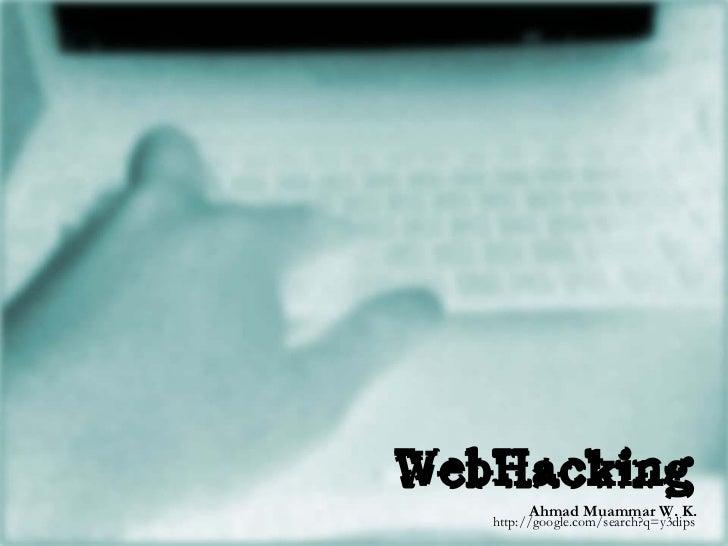 Ahmad Muammar W. K. http://google.com/search?q=y3dips