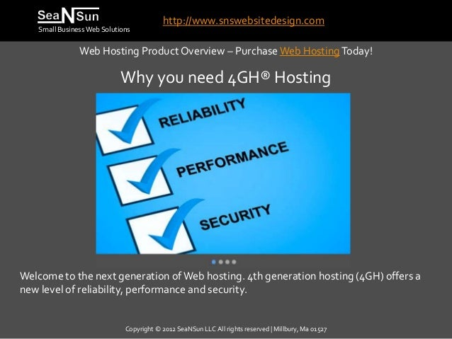 Why you need 4GH® Hosting