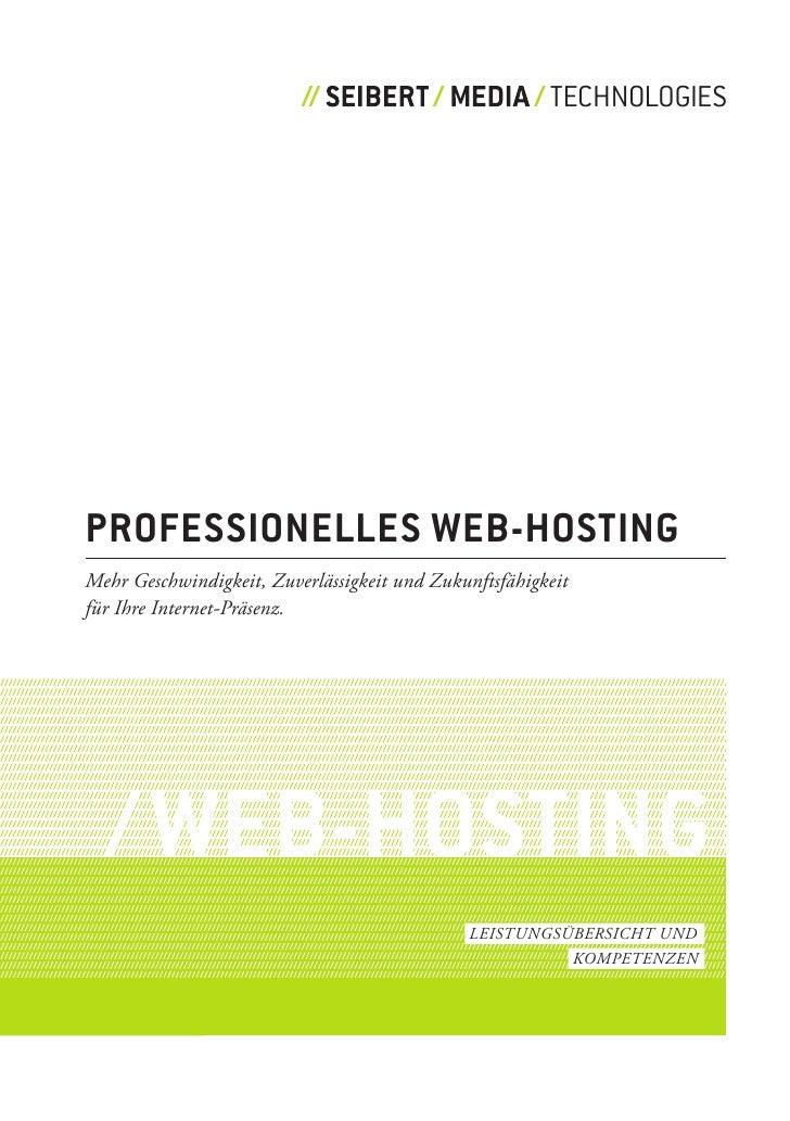 TECHNOLOGIES     professionelles Web-Hosting Mehr Geschwindigkeit, Zuverlässigkeit und Zukunftsfähigkeit für Ihre Internet...