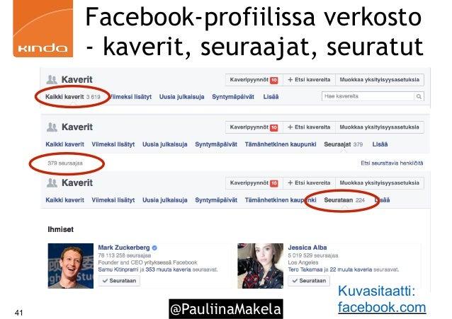 facebook profiilin luominen Kerava
