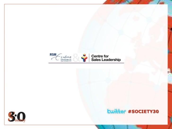 Webinar Centre for Sales Leadership #Society30
