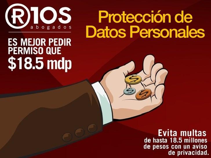 Protección deDatos Personales