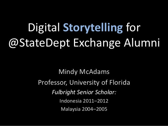 How to Share Your Digital Stories