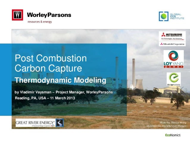 Webinar: Post-combusion carbon capture - Thermodynamic modelling