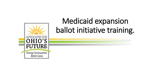 Medicaid expansion ballot initiative training