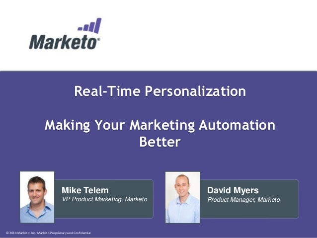 Real-Time Personalization: Enhance Any Marketing Automation Solution