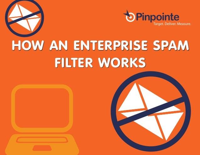 How an Enterprise SPAM Filter Works