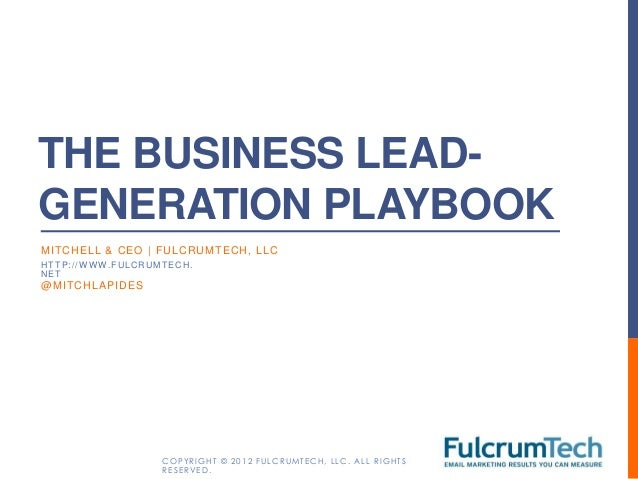 You Business Lead Generation Handbook