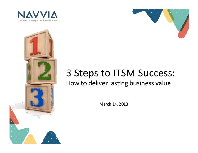 3 Steps to ITSM Success: How to Deliver Lasting Business Value