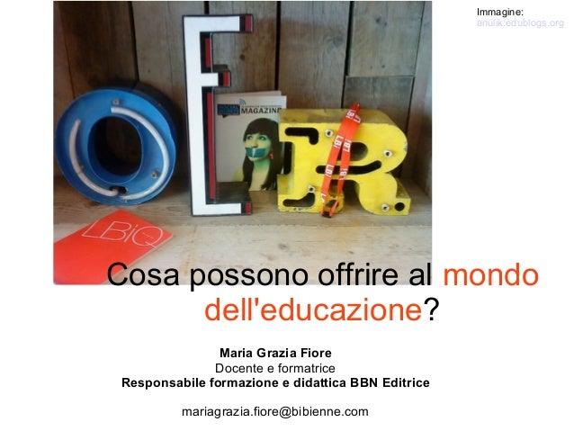 Open Educational Resources. Cosa possono offrire al mondo dell'educazione?