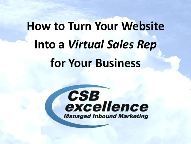 Turn Your Website into a Virtual Sales Rep for Your IT Services Business