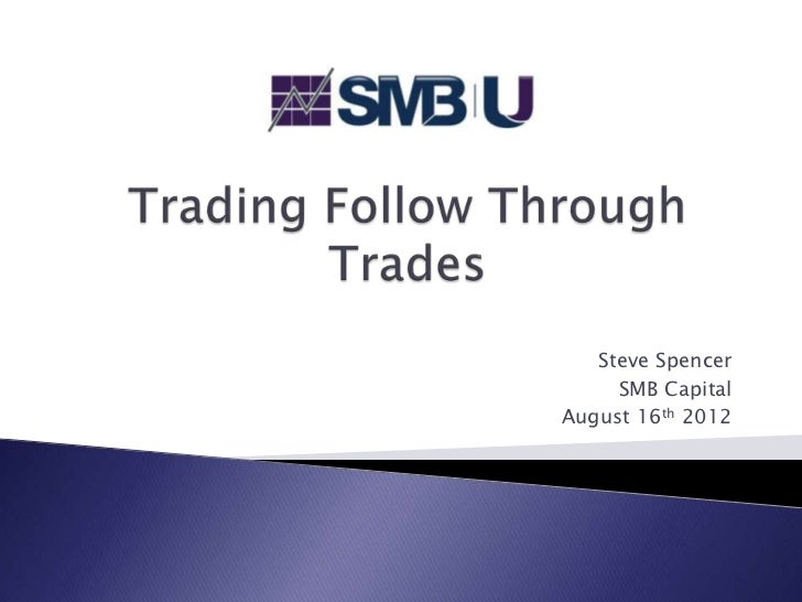 Trading Follow Through Trades with Steve Spencer