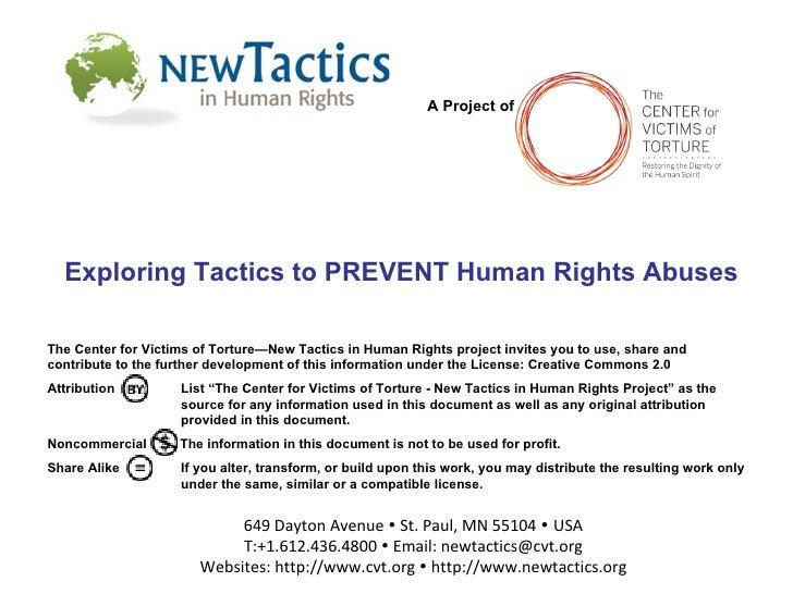 Tavaana/New Tactics Webinar 1: Prevention Tactics (English)
