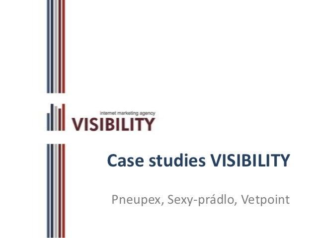 Webinár 2:  Case studies VISIBILITY