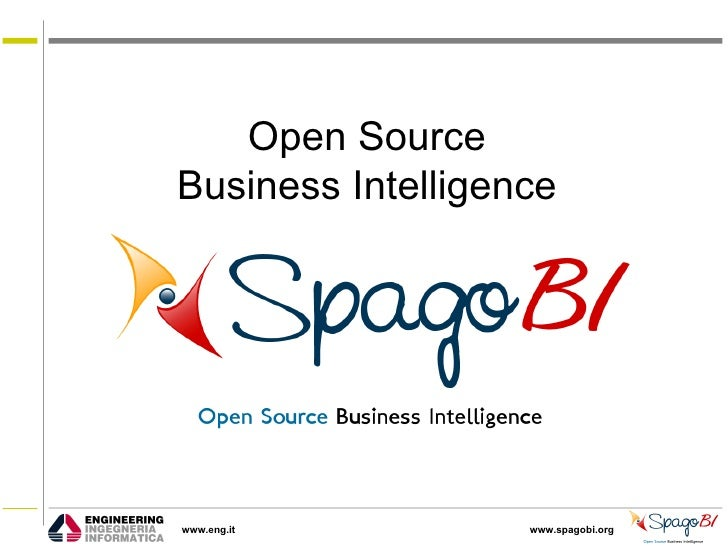 Open Source Location Intelligence with SpagoBI