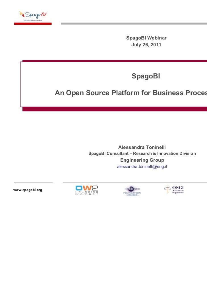 Webinar - An Open Source Platform for Business Process Mining