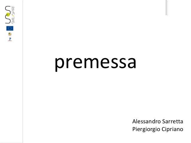 Webinar 2013 10-23-premessa